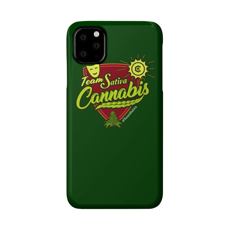 Team Sativa Accessories Phone Case by The Medical Cannabis Community