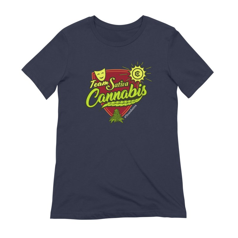 Team Sativa Women's Extra Soft T-Shirt by The Medical Cannabis Community