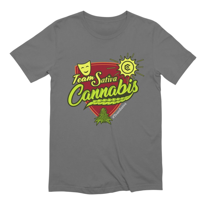 Team Sativa Men's Extra Soft T-Shirt by The Medical Cannabis Community