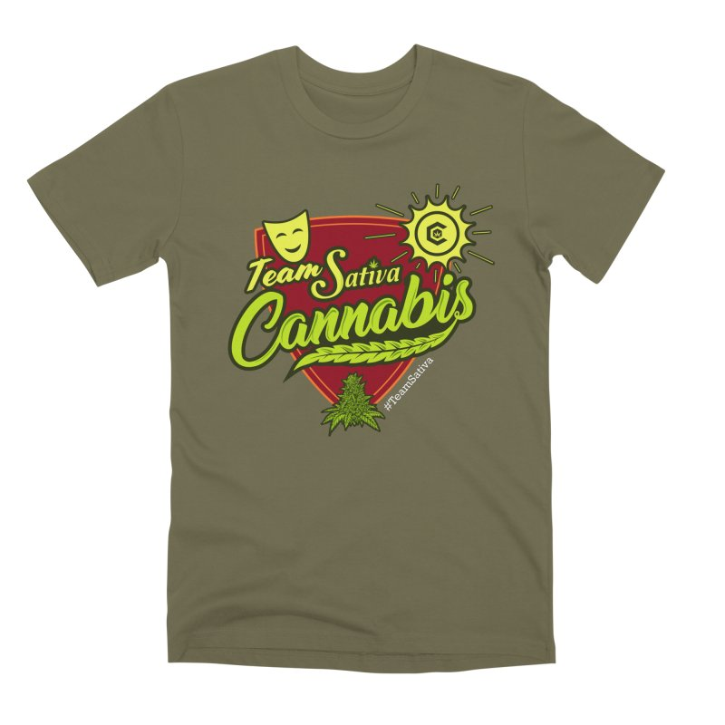 Team Sativa Men's Premium T-Shirt by The Medical Cannabis Community