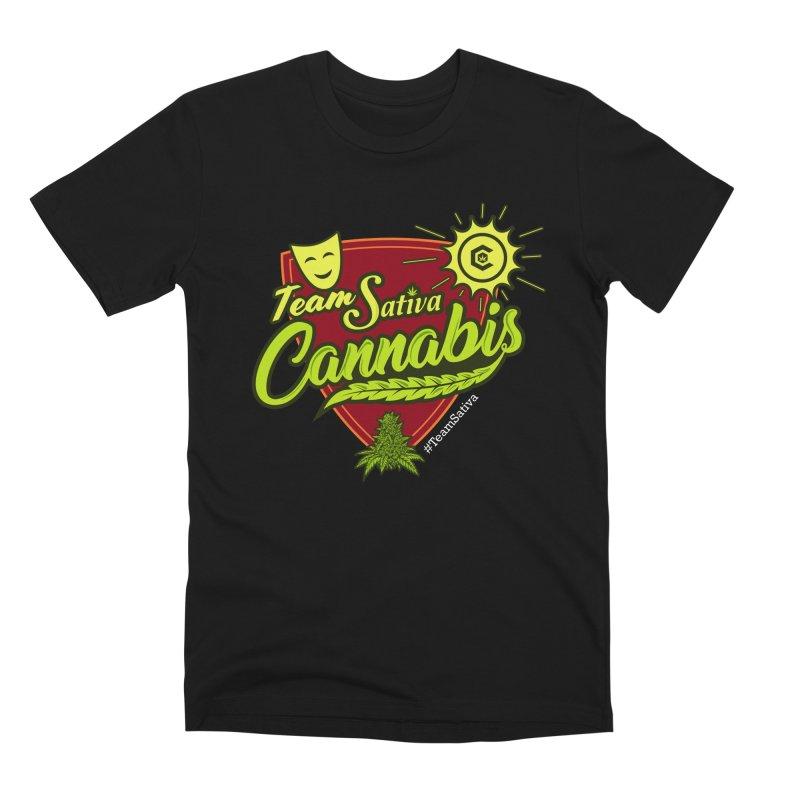 Team Sativa Men's Premium T-Shirt by The Medical Cannabis Community