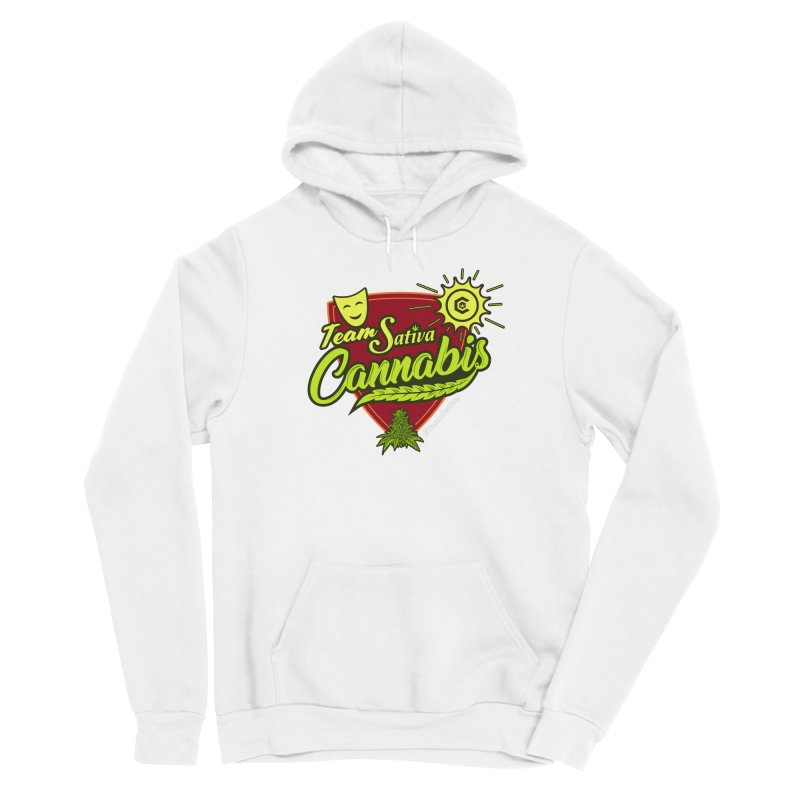 Team Sativa Women's Pullover Hoody by The Medical Cannabis Community