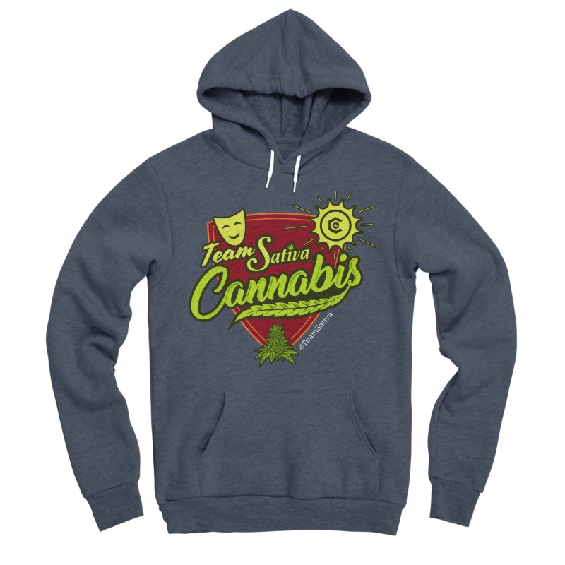 Team Sativa Women's Sponge Fleece Pullover Hoody by The Medical Cannabis Community
