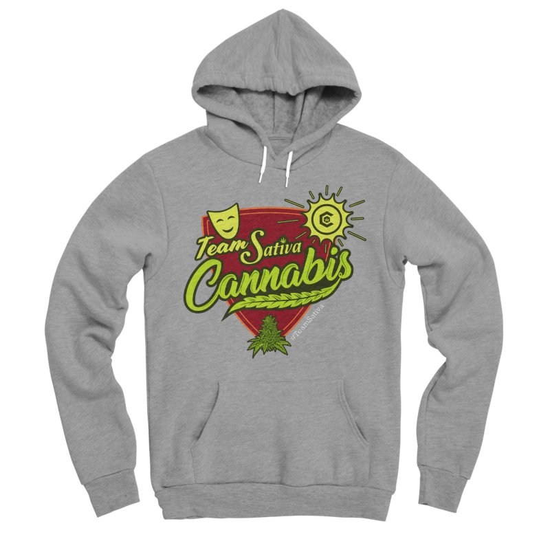 Team Sativa Men's Sponge Fleece Pullover Hoody by The Medical Cannabis Community