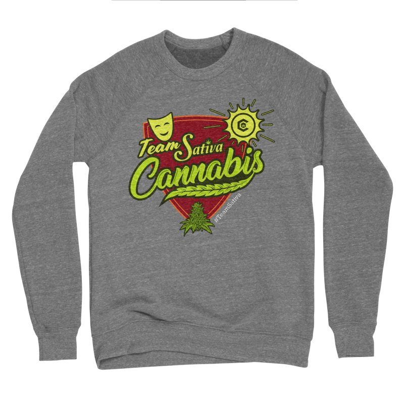 Team Sativa Women's Sponge Fleece Sweatshirt by The Medical Cannabis Community