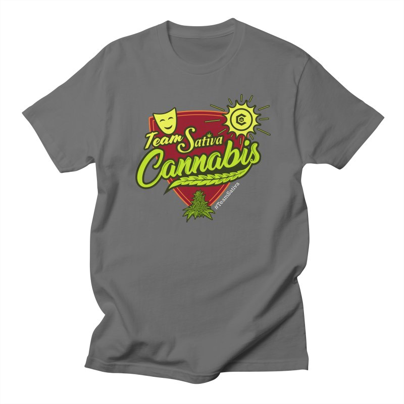 Team Sativa Men's T-Shirt by The Medical Cannabis Community