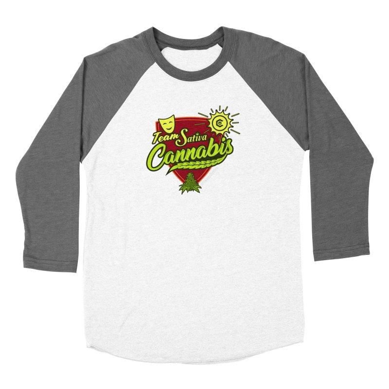 Team Sativa Women's Longsleeve T-Shirt by The Medical Cannabis Community