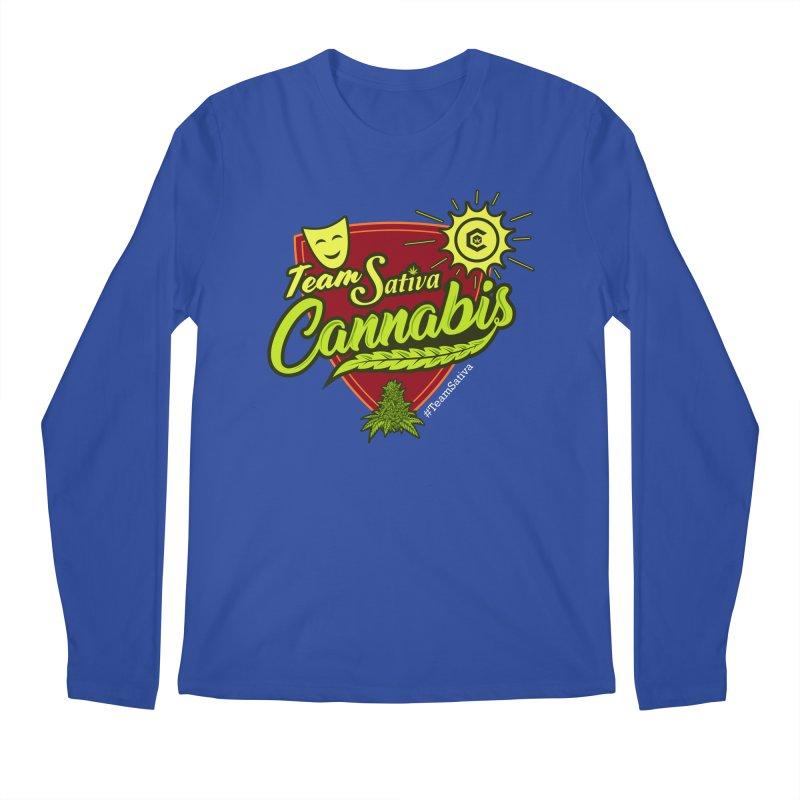 Team Sativa Men's Regular Longsleeve T-Shirt by The Medical Cannabis Community