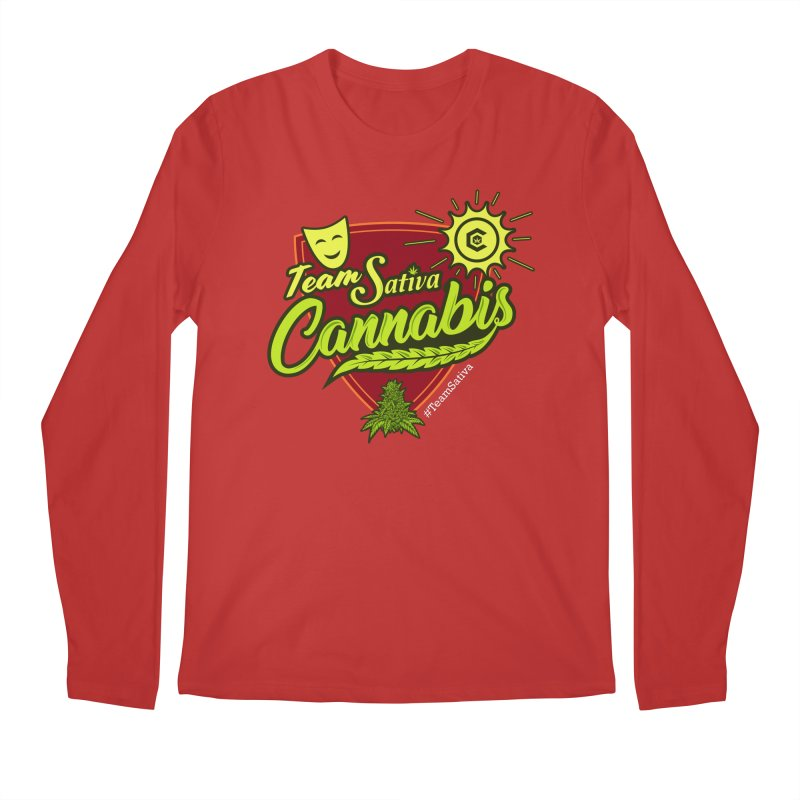 Team Sativa Men's Regular Longsleeve T-Shirt by The Medical Cannabis Community