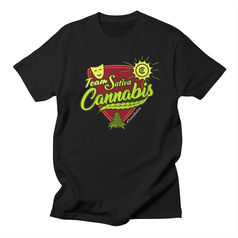 Team Sativa Women's Regular Unisex T-Shirt by The Medical Cannabis Community