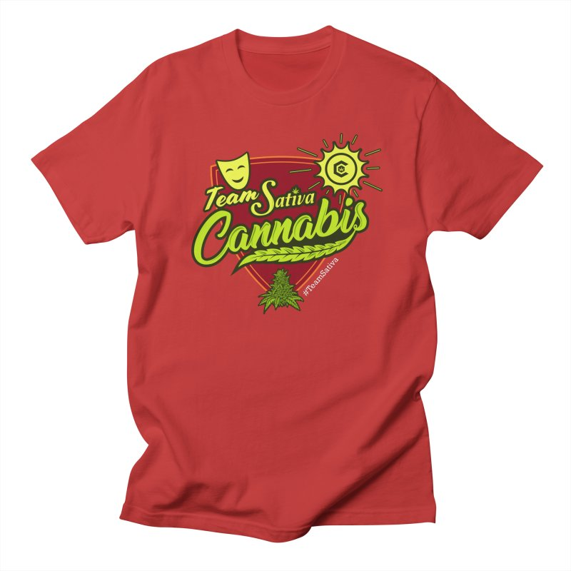 Team Sativa Men's Regular T-Shirt by The Medical Cannabis Community