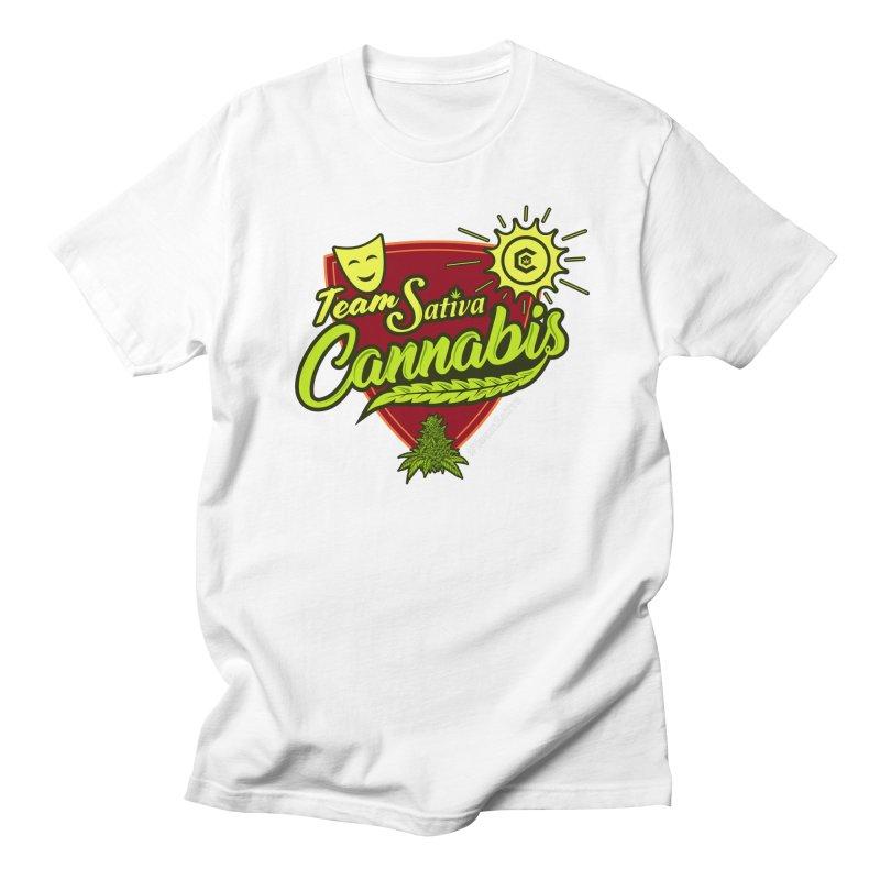 Team Sativa Women's Regular Unisex T-Shirt by The Medical Cannabis Community
