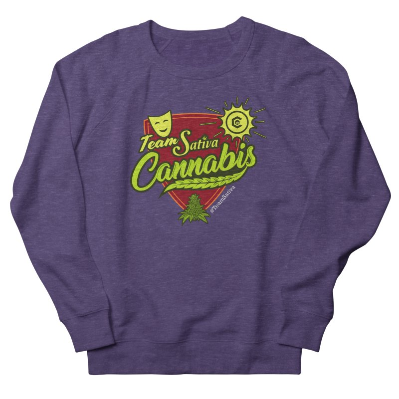 Team Sativa Women's French Terry Sweatshirt by The Medical Cannabis Community