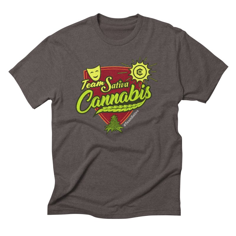 Team Sativa Men's Triblend T-Shirt by The Medical Cannabis Community