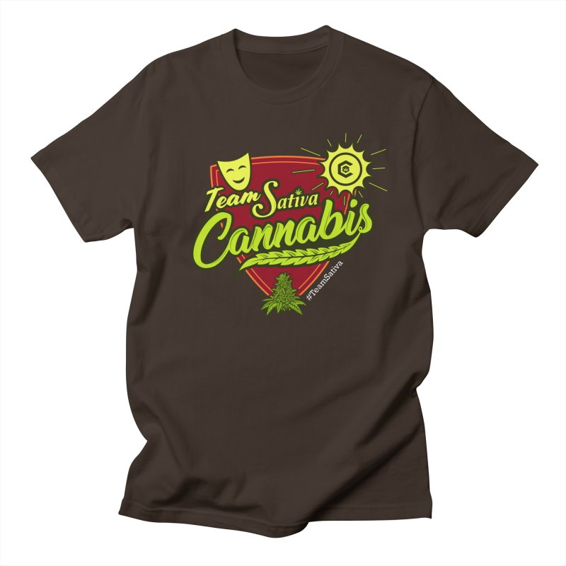 Team Sativa Men's Regular T-Shirt by The Medical Cannabis Community