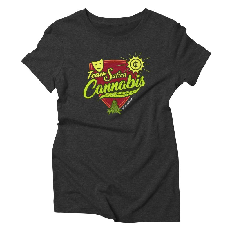 Team Sativa Women's Triblend T-Shirt by The Medical Cannabis Community