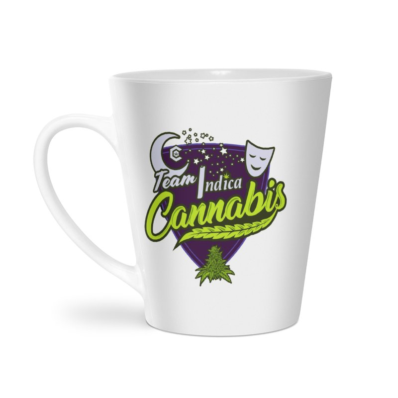 Team Indica Accessories Latte Mug by The Medical Cannabis Community