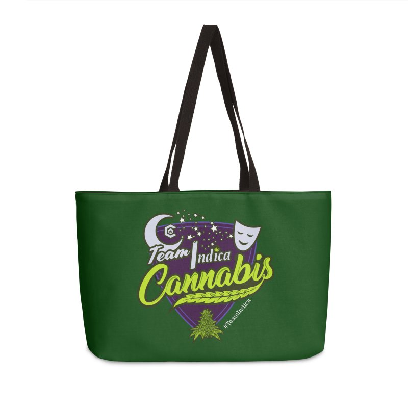 Team Indica Accessories Weekender Bag Bag by The Medical Cannabis Community