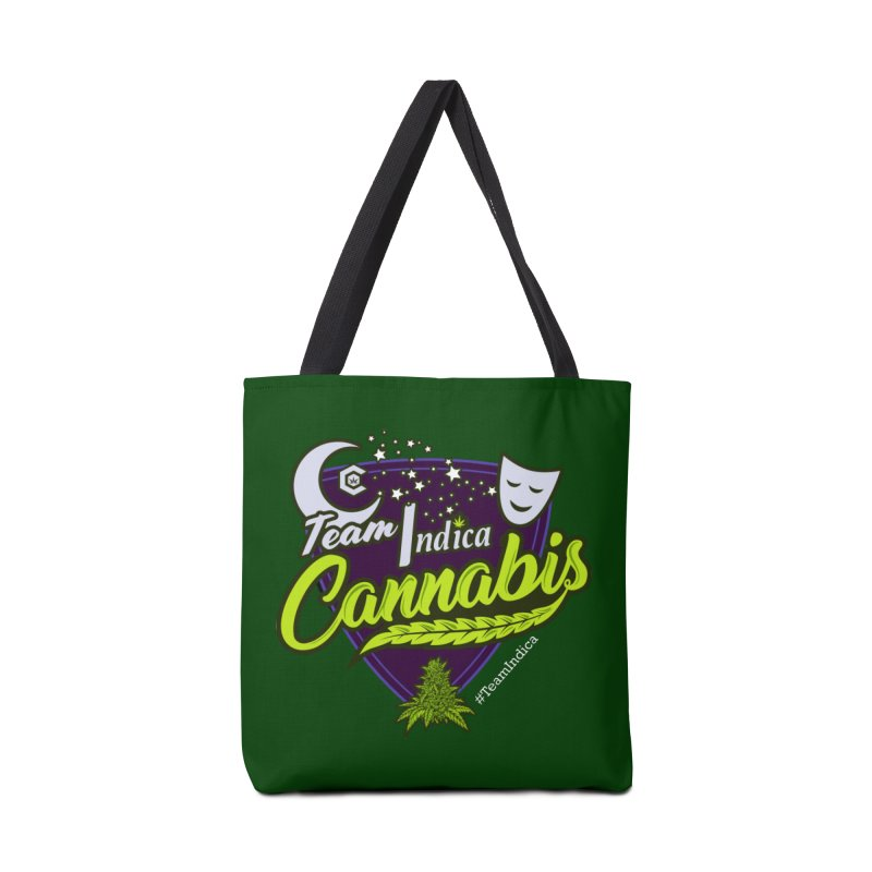 Team Indica Accessories Tote Bag Bag by The Medical Cannabis Community