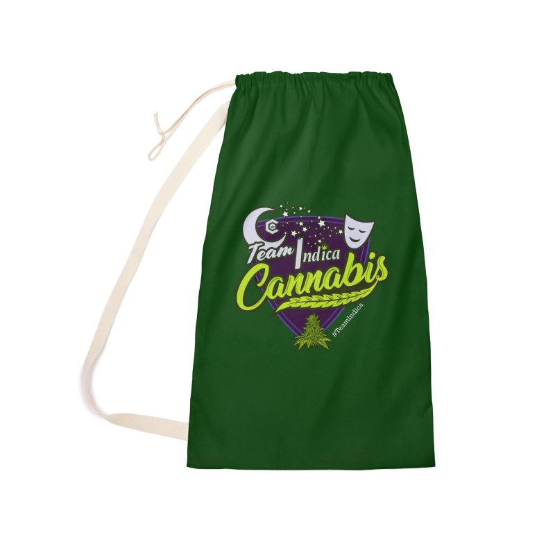 Team Indica Accessories Laundry Bag Bag by The Medical Cannabis Community