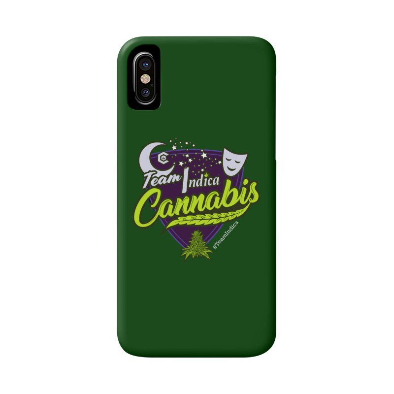 Team Indica Accessories Phone Case by The Medical Cannabis Community
