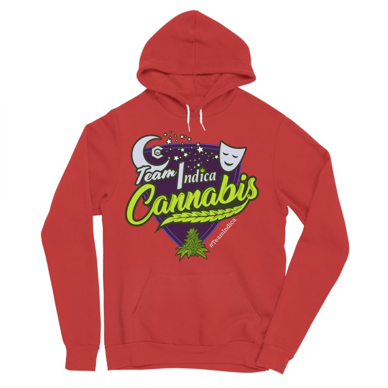 Team Indica Women's Pullover Hoody by The Medical Cannabis Community
