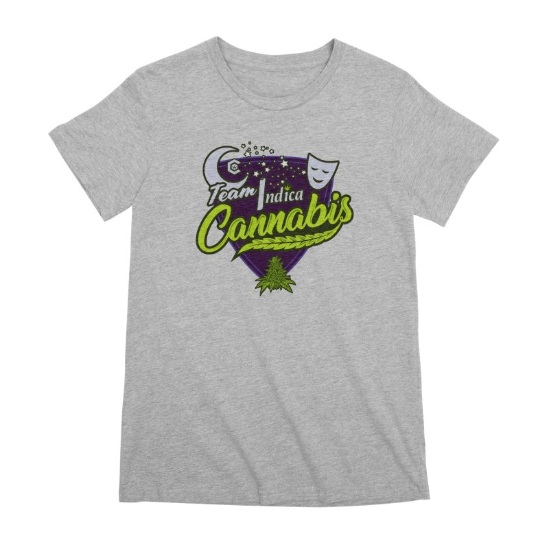 Team Indica Women's Premium T-Shirt by The Medical Cannabis Community