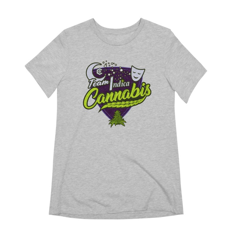 Team Indica Women's Extra Soft T-Shirt by The Medical Cannabis Community