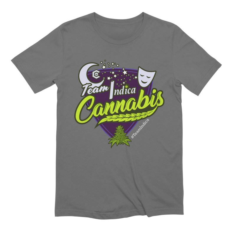 Team Indica Men's T-Shirt by The Medical Cannabis Community