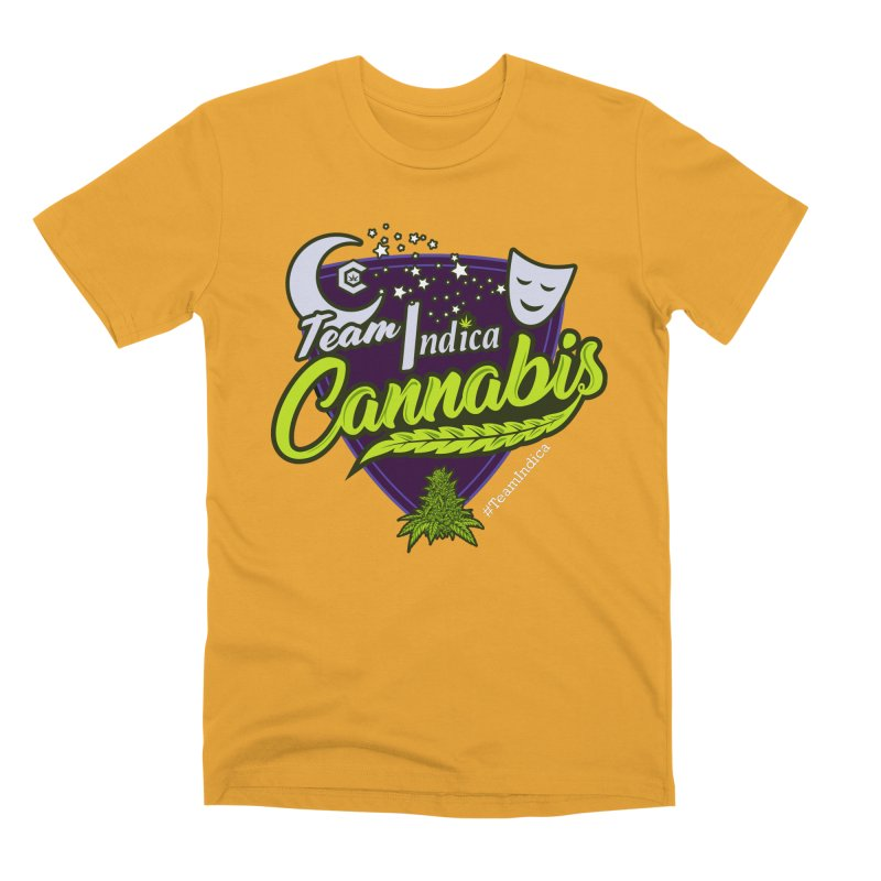 Team Indica Men's Premium T-Shirt by The Medical Cannabis Community