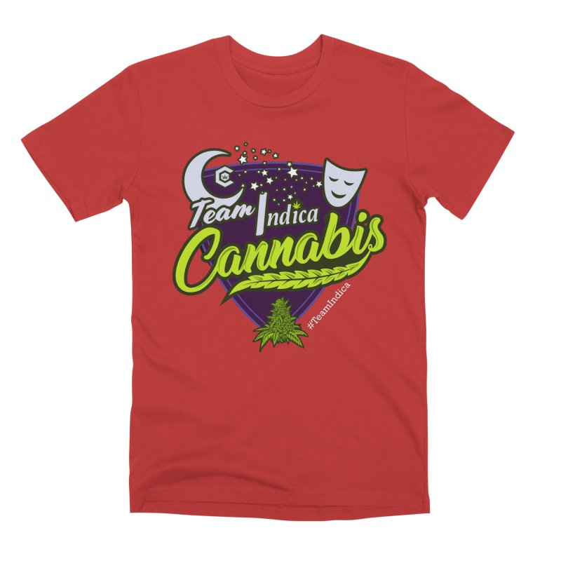 Team Indica Men's Premium T-Shirt by The Medical Cannabis Community
