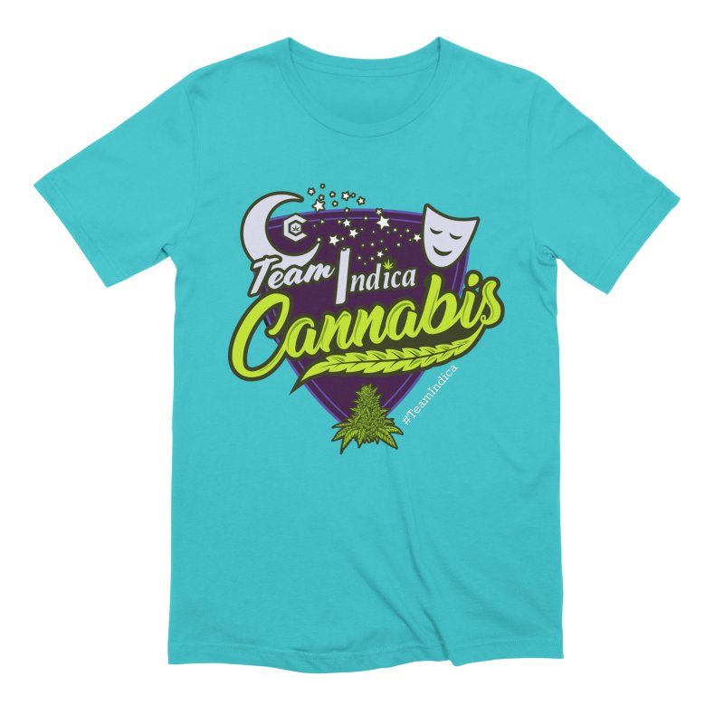 Team Indica Men's Extra Soft T-Shirt by The Medical Cannabis Community