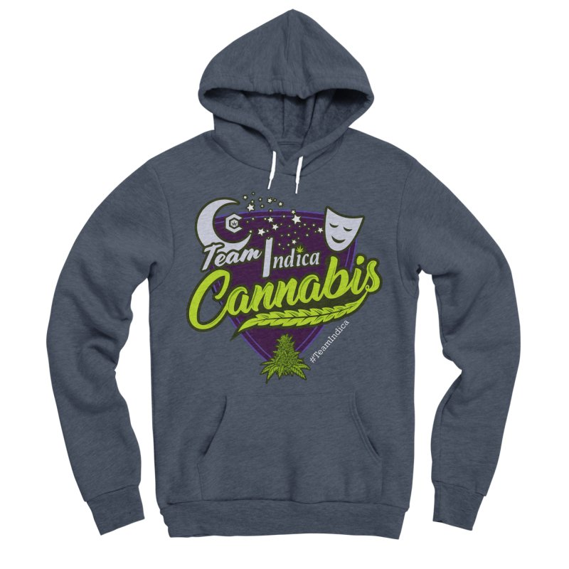 Team Indica Women's Sponge Fleece Pullover Hoody by The Medical Cannabis Community