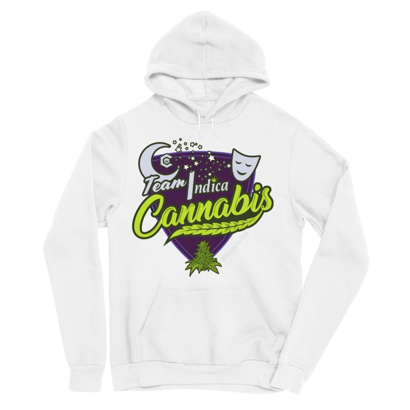 Team Indica Men's Sponge Fleece Pullover Hoody by The Medical Cannabis Community