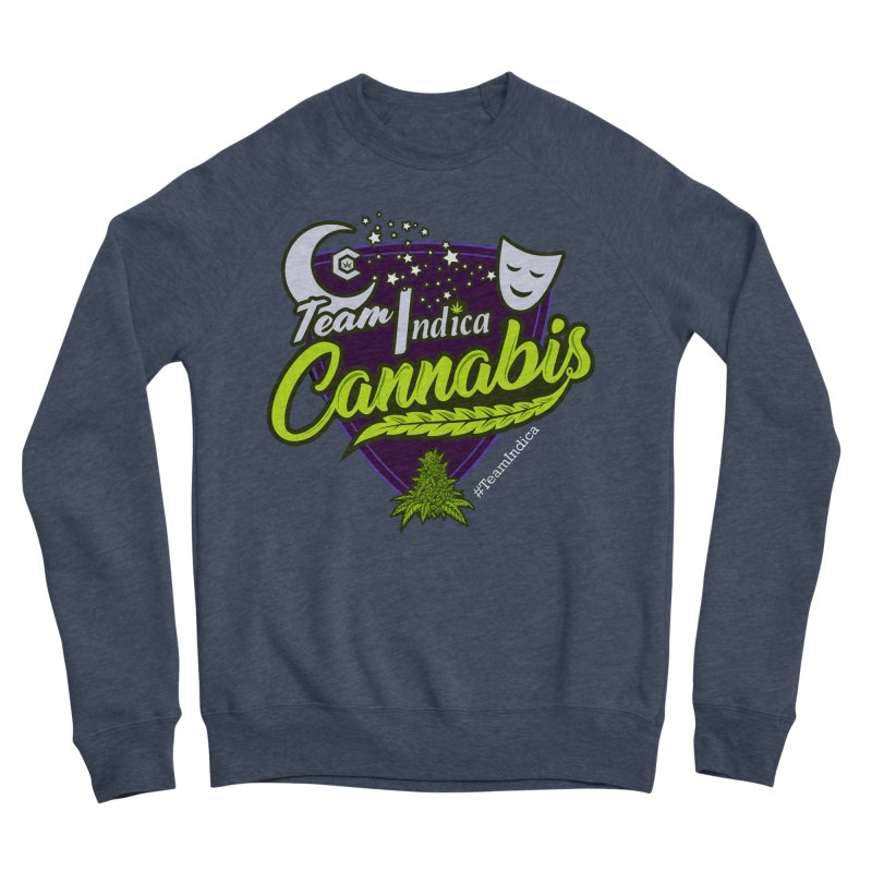 Team Indica Women's Sponge Fleece Sweatshirt by The Medical Cannabis Community