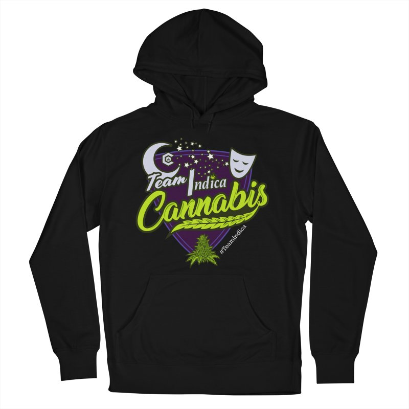 Team Indica Women's French Terry Pullover Hoody by The Medical Cannabis Community