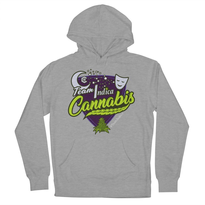 Team Indica Men's French Terry Pullover Hoody by The Medical Cannabis Community