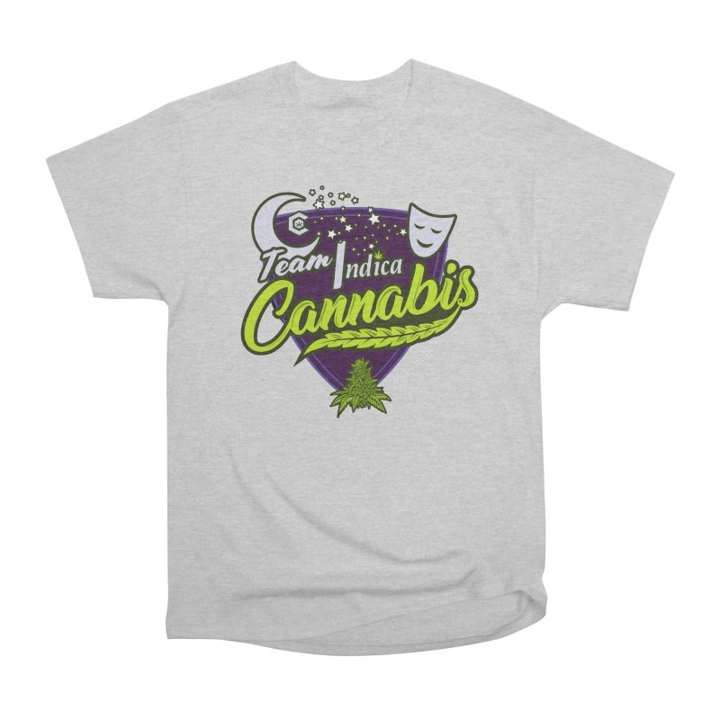 Team Indica Men's Heavyweight T-Shirt by The Medical Cannabis Community