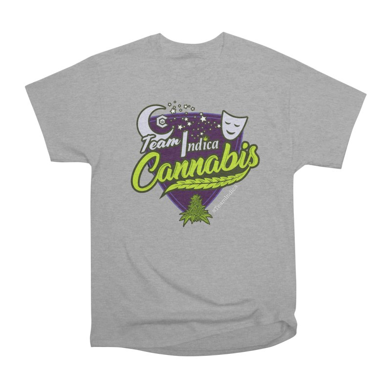 Team Indica Women's Heavyweight Unisex T-Shirt by The Medical Cannabis Community