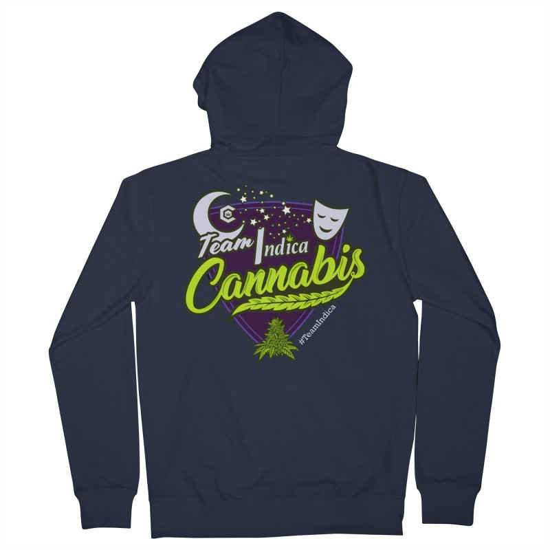 Team Indica Women's French Terry Zip-Up Hoody by The Medical Cannabis Community