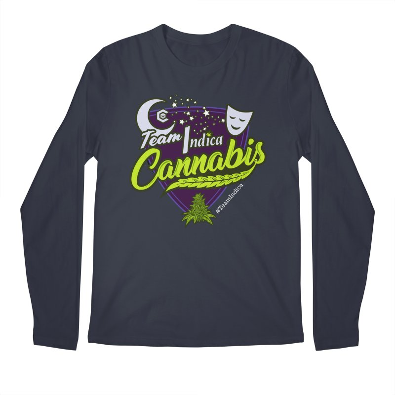 Team Indica Men's Regular Longsleeve T-Shirt by The Medical Cannabis Community