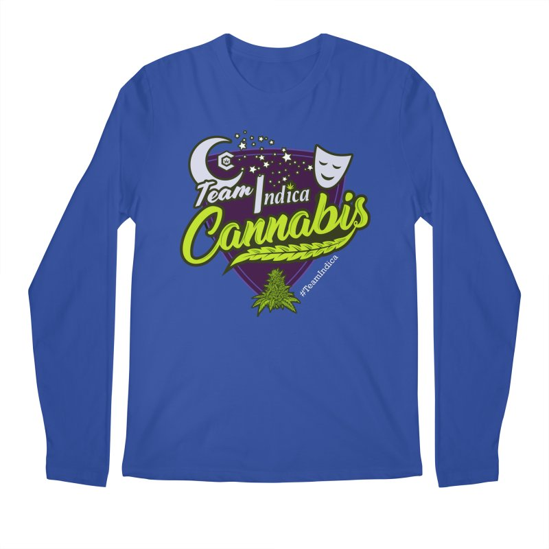 Team Indica Men's Regular Longsleeve T-Shirt by The Medical Cannabis Community