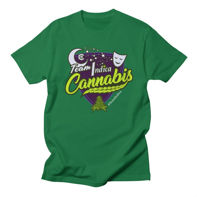 Team Indica Women's Regular Unisex T-Shirt by The Medical Cannabis Community