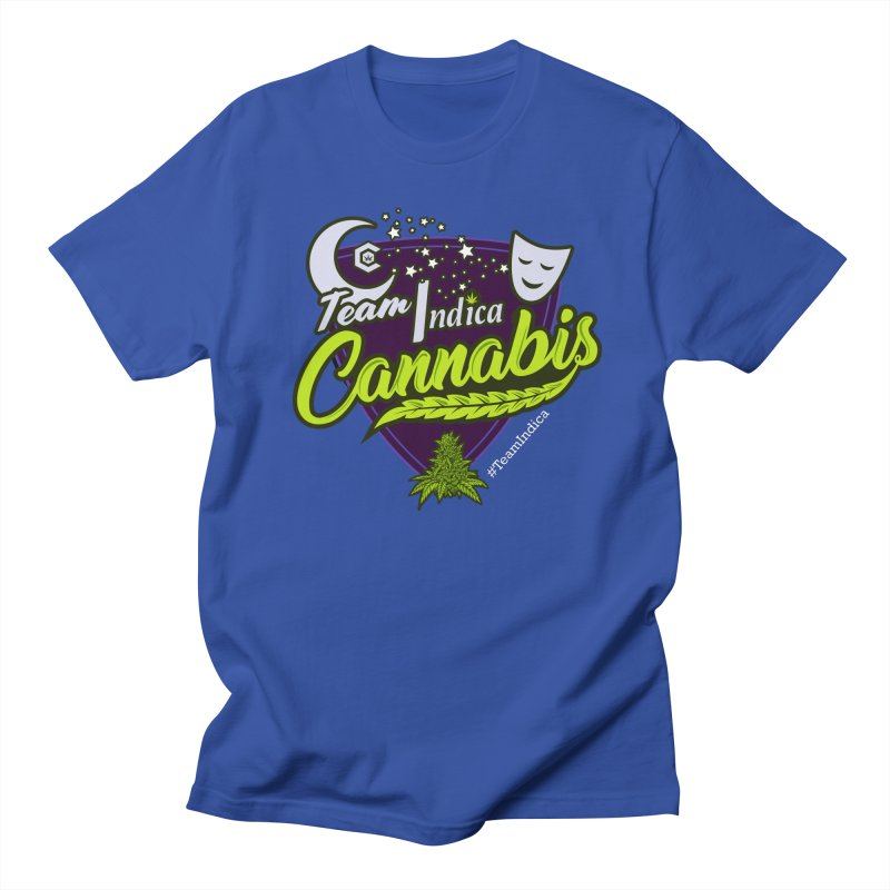 Team Indica Women's Regular Unisex T-Shirt by The Medical Cannabis Community