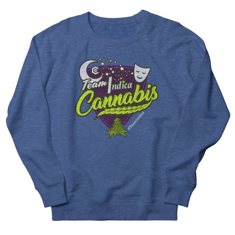 Team Indica Women's French Terry Sweatshirt by The Medical Cannabis Community