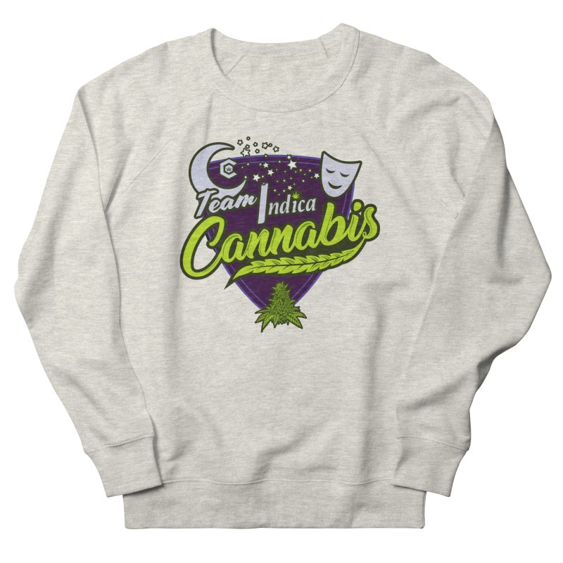 Team Indica Men's French Terry Sweatshirt by The Medical Cannabis Community