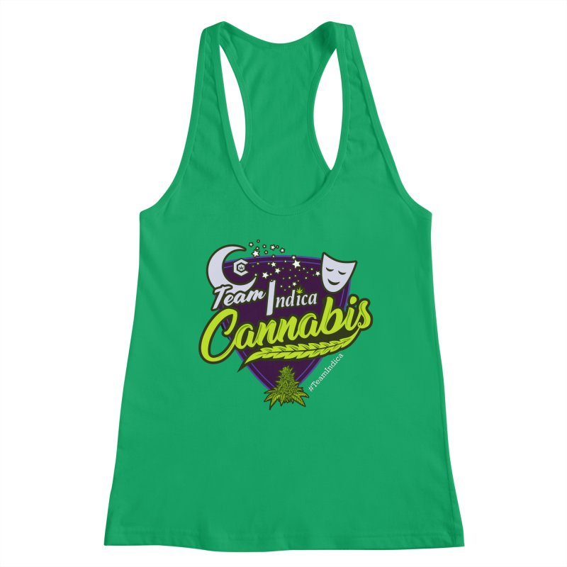 Team Indica Women's Tank by The Medical Cannabis Community