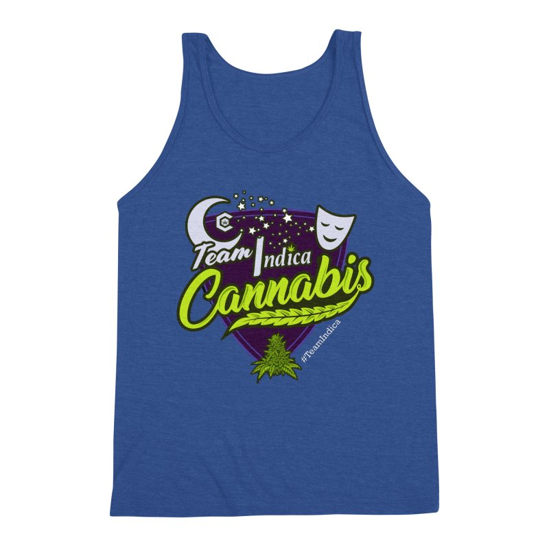 Team Indica Men's Triblend Tank by The Medical Cannabis Community