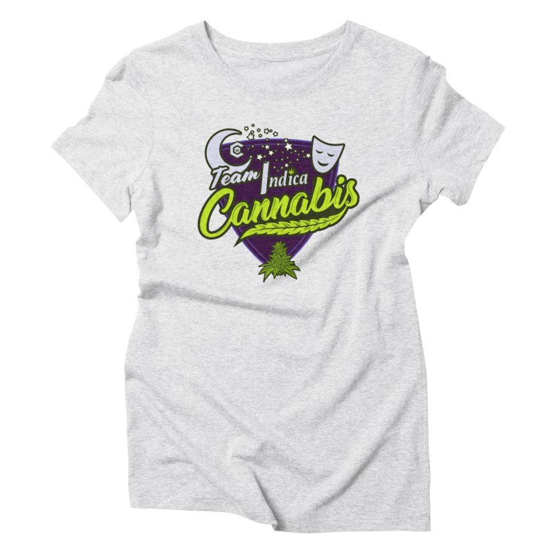 Team Indica Women's Triblend T-Shirt by The Medical Cannabis Community