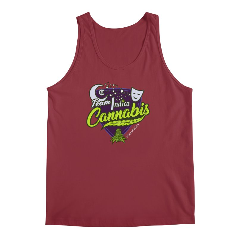 Team Indica Men's Regular Tank by The Medical Cannabis Community